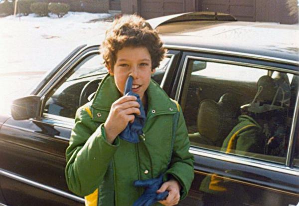 Адам Сендлер уже в детстве готовился стать комиком
