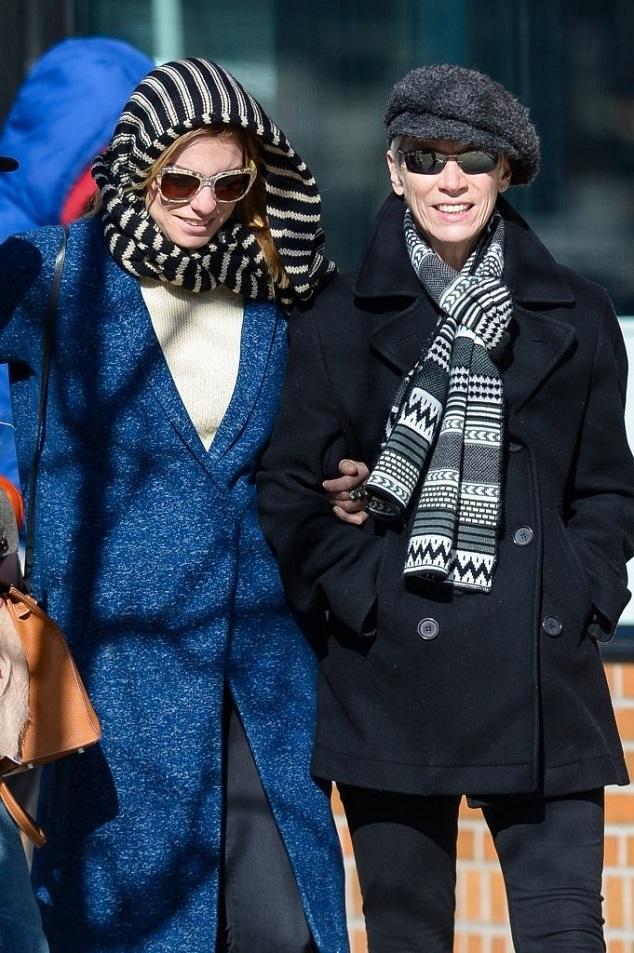 Энни Леннокс с дочерью