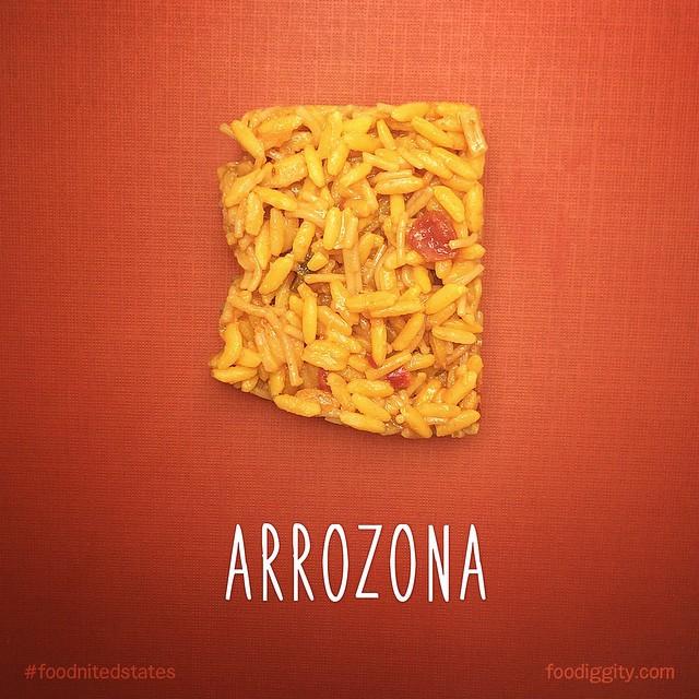 Аризона - от слова рис