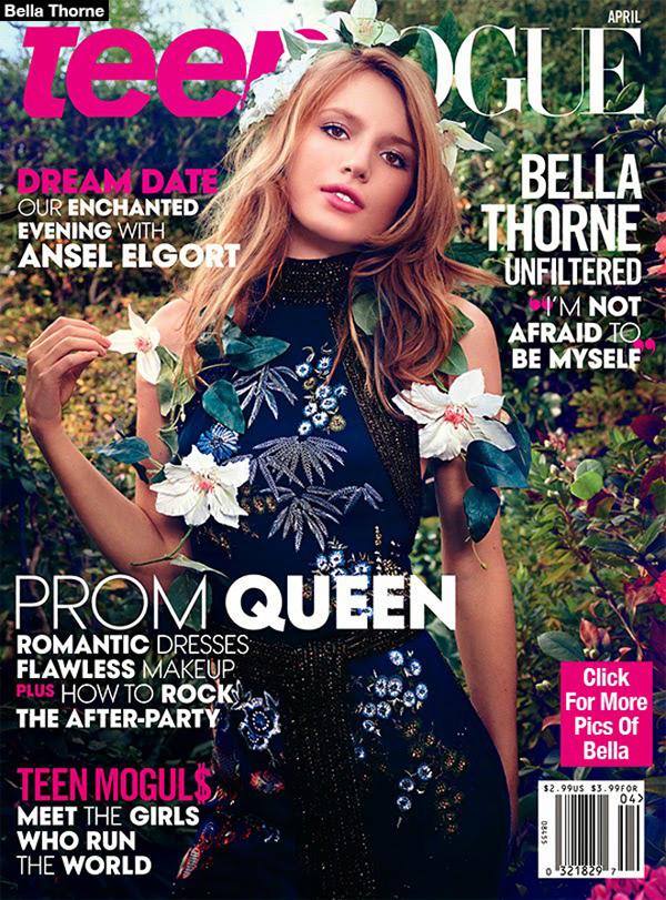 Белла Торн на обложке Teen Vogue, апрель 2015