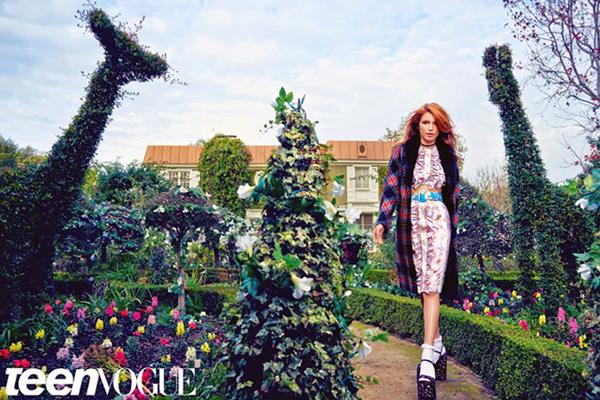 Белла Торн для Teen Vogue, апрель 2015