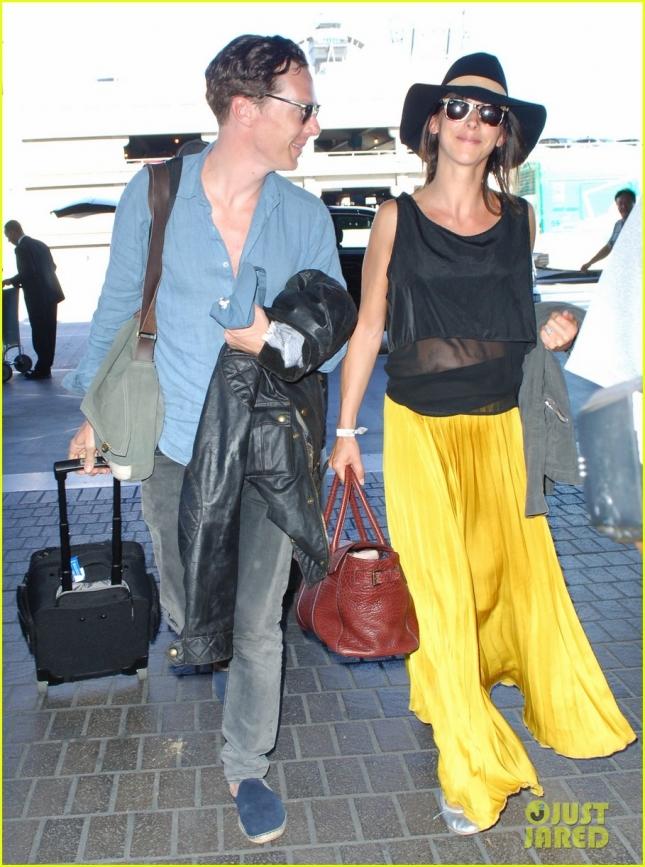 Бенедикт и Софи Камбербэтч провели медовый месяц на Таити