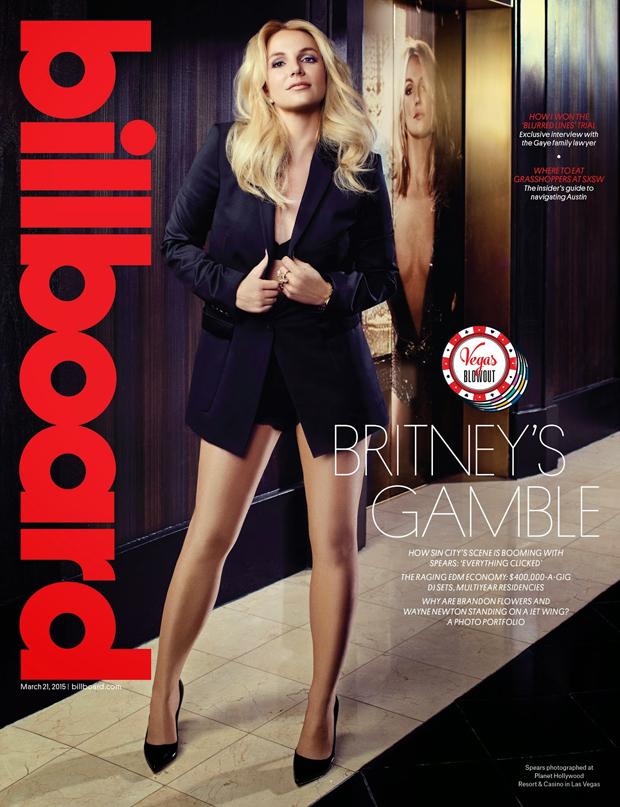 Бритни Спирс на обложке  Billboard Magazine