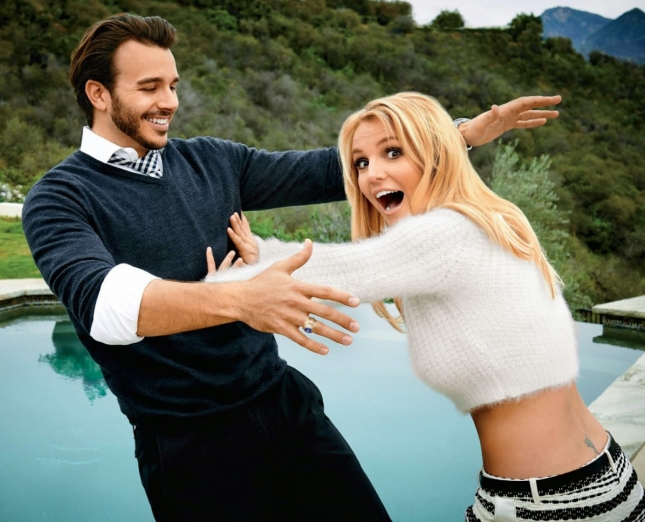 Бритни Спирс в фотосессии для People