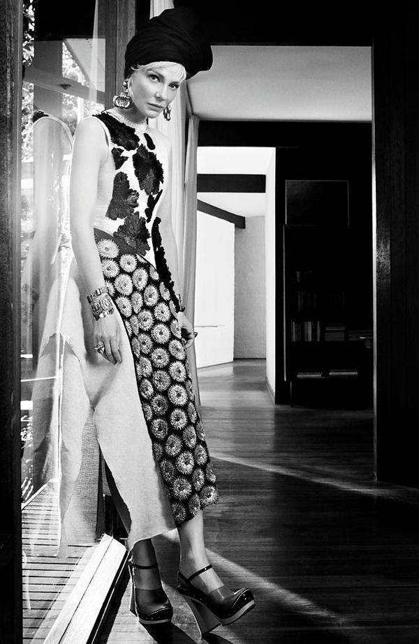 Кейт Бланшетт для Vogue Австралия, апрель 2015