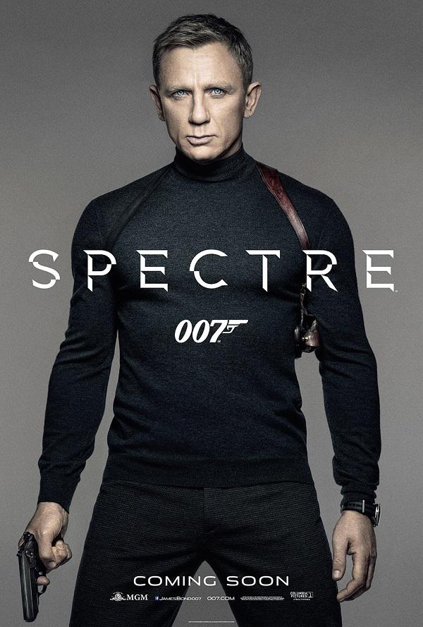 """Официальный """"тизер-постер фильма """"007: Спектр"""""""