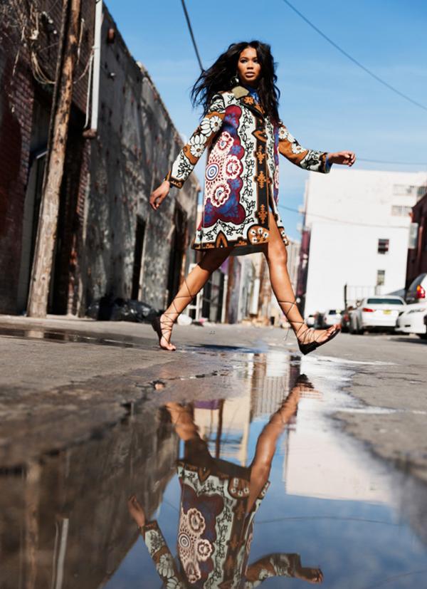 Шанель Иман для Malibu Magazine