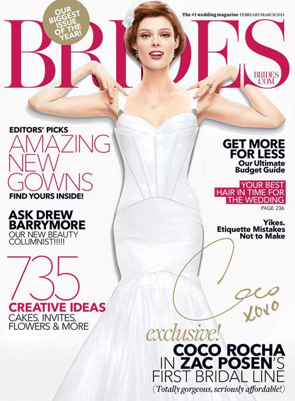 Коко Роша на обложке Brides