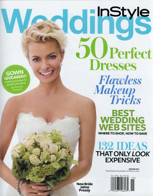 Джейми Пресли на обложке  InStyle Wedding