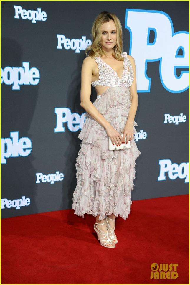 Диана Крюгер появилась на красной дорожке торжественного вечера, устроенного германской версией журнала People