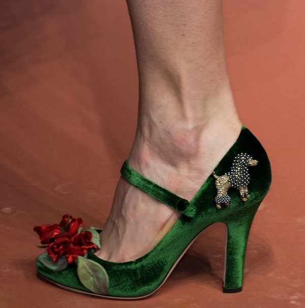 туфли - Dolce Gabbana осень 2015