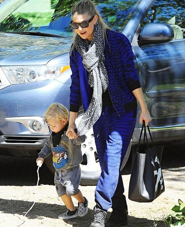 Ферджи с сыном