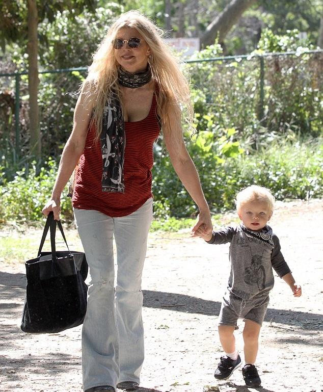Ферги с сыном
