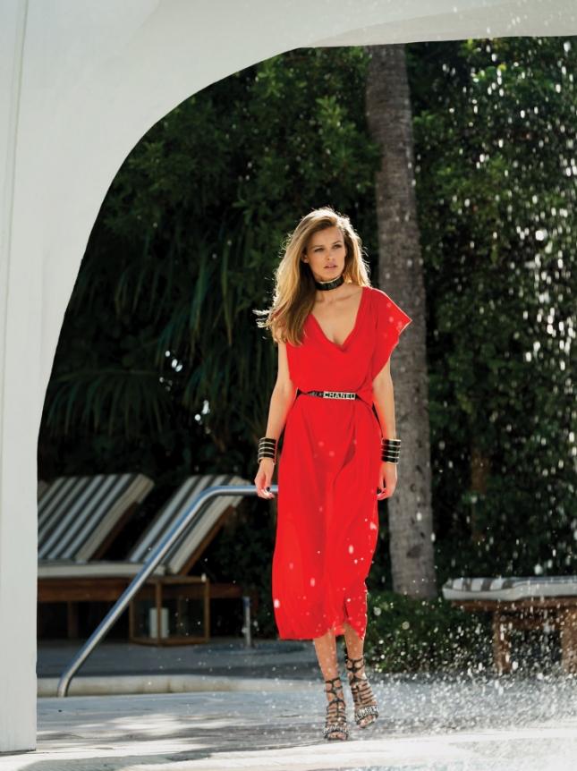 Эдита Вилкевичуте в журнале Vogue Мексика
