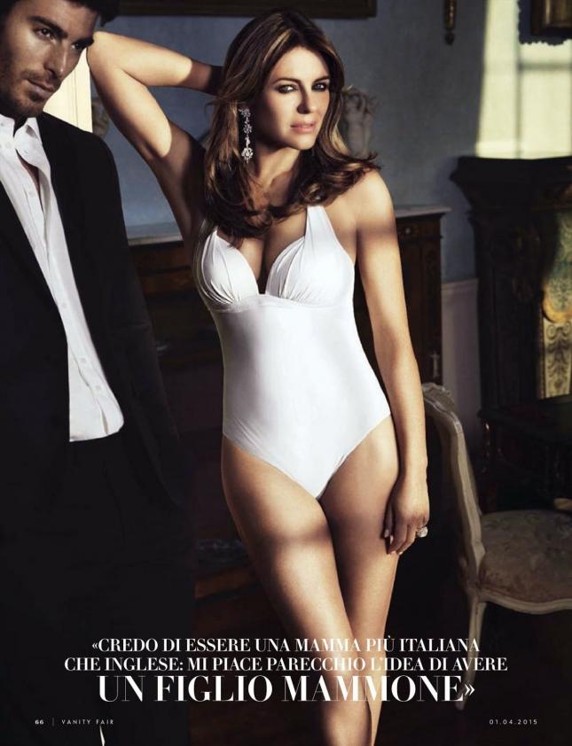 Элизабет Херли для Vanity Fair Италия, апрель 2015