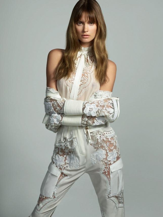 Бехати Принслу в фотосессии для Vogue Турция