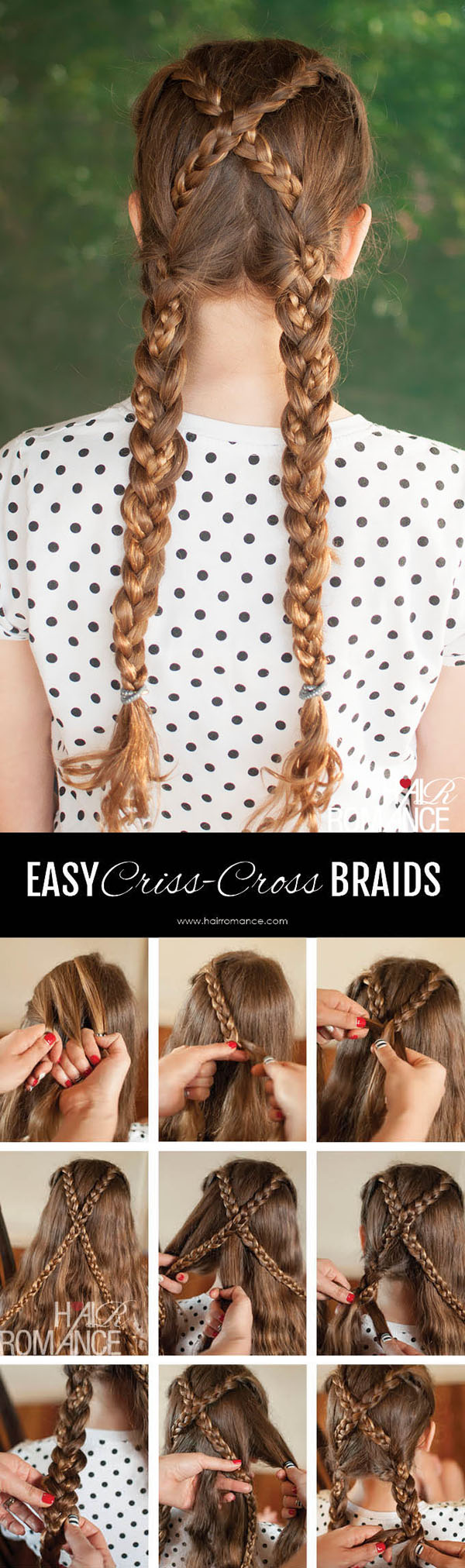Hair-Romance-Back-to-school-hair-criss-cross-braids-hairstyle-tutorial-4