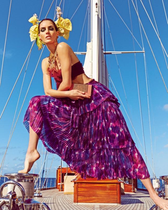 Хилари Рода для Vogue Япония, май 2015