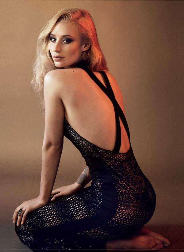 Игги Азалия в фотосессии  для Vogue
