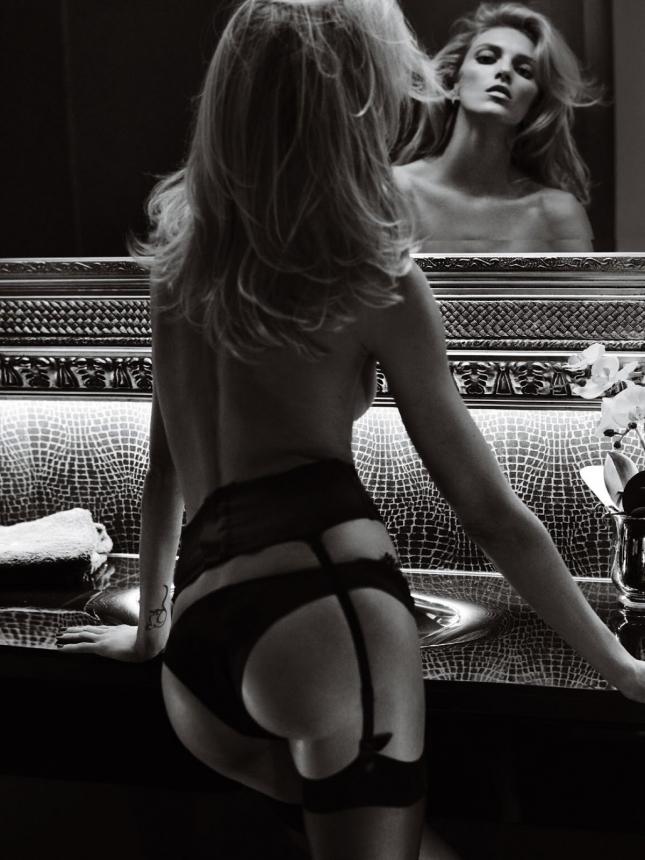 Аня Рубик для Vogue Париж, апрель 2015