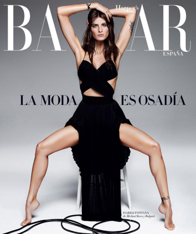 Изабели Фонтана на обложке Harper's Bazaar Испания, апрель 2015