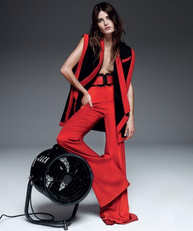 Изабели Фонтана для Harper's Bazaar Испания, апрель 2015