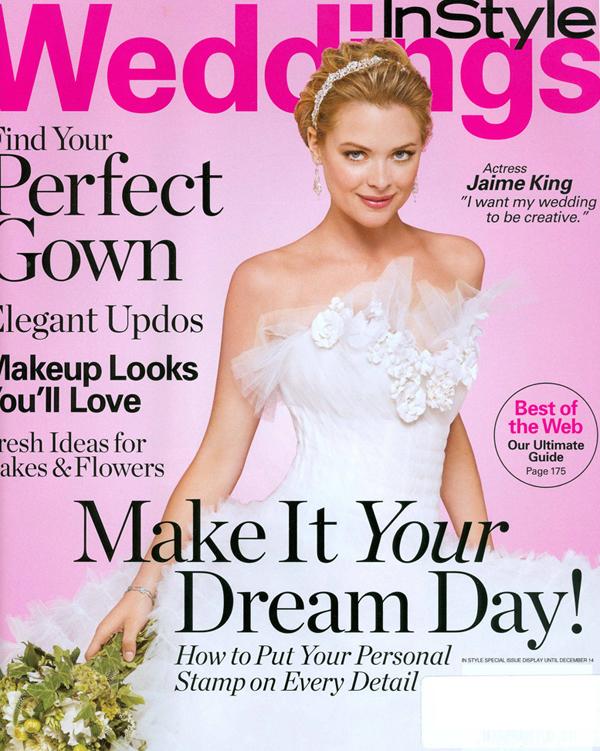 Джейми Кинг на обложке InStyle Wedding, 2007