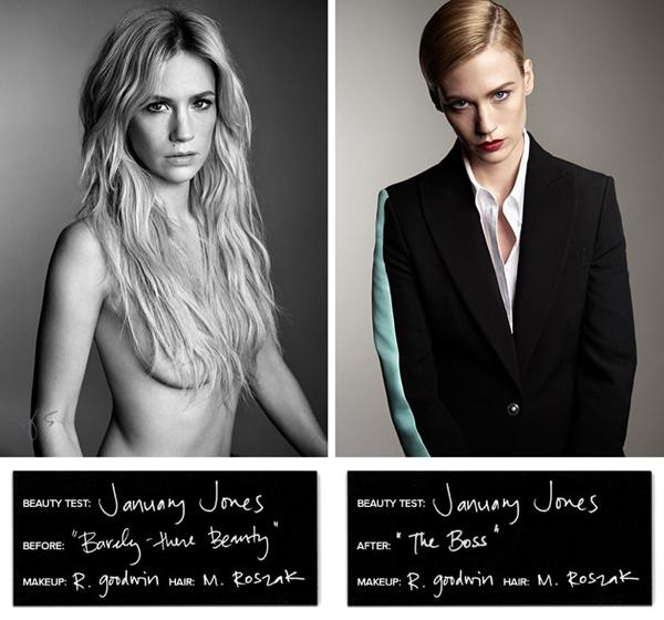 Дженьюари Джонс в фотосессии для  Violet Grey