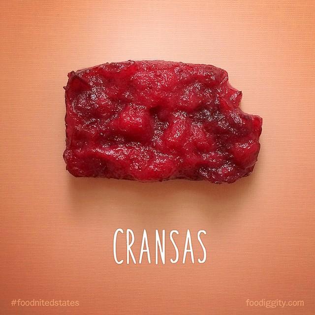 Канзас  - зашифровано слово клюква