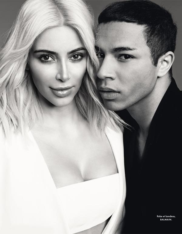 Ким Кардашьян для Elle Франция