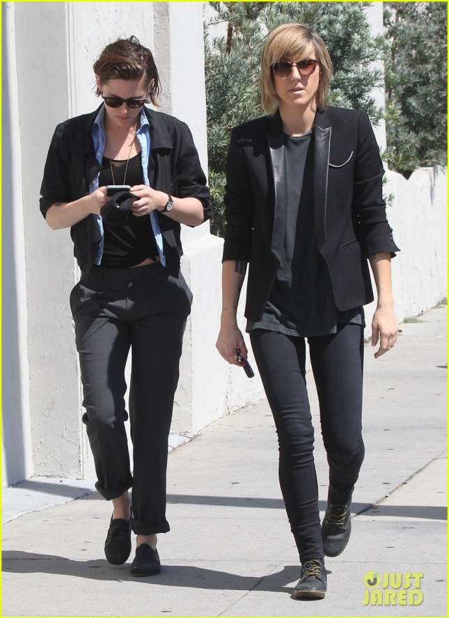 Kristen Stewart and Alicia Cargile out in Los Angeles
