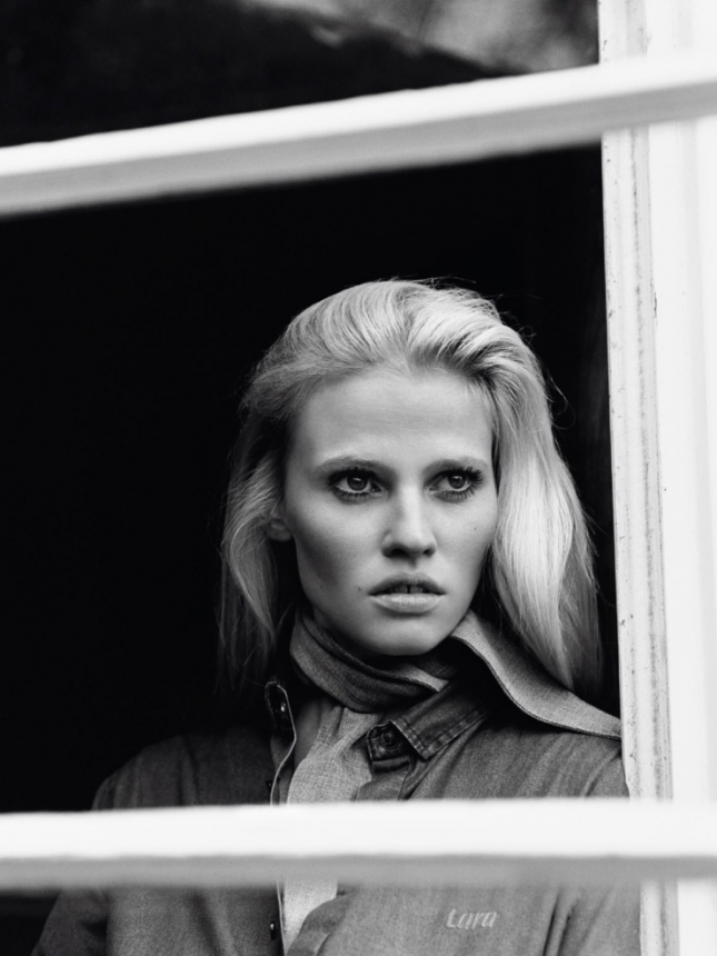 Лара Стоун для Vogue Париж, апрель 2015