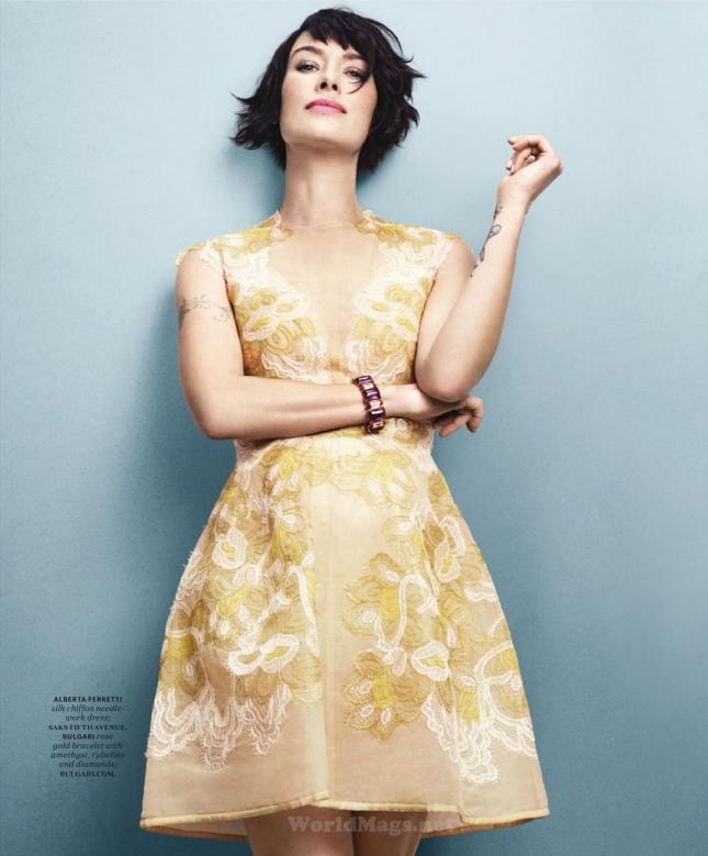 Лена Хиди для More, апрель 2015