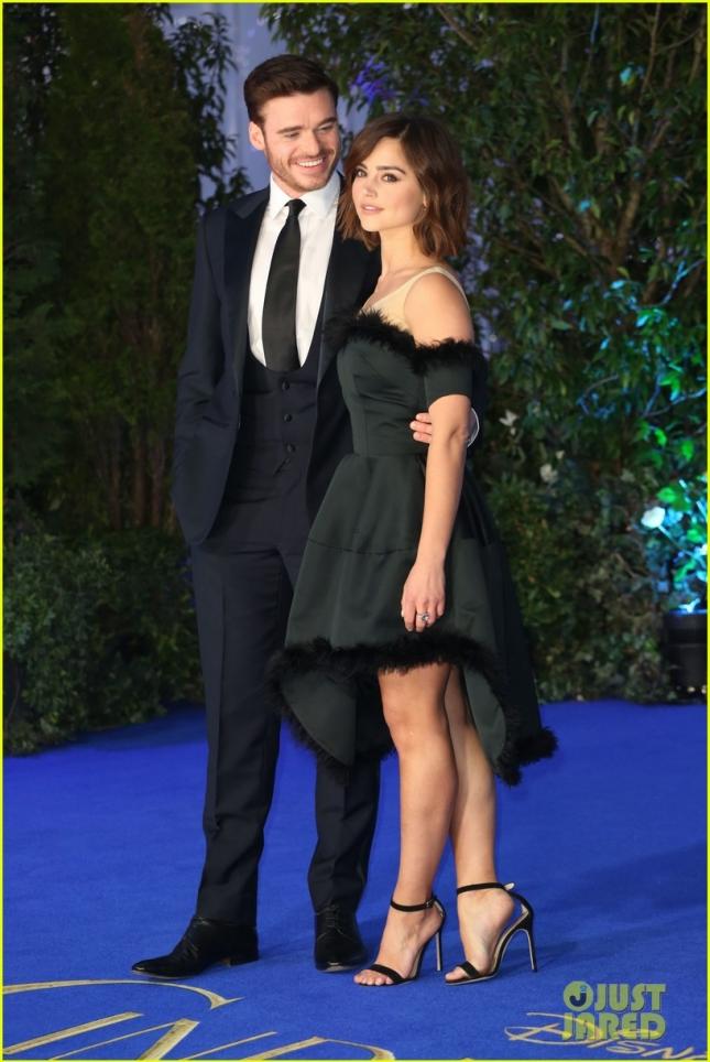 Ричард Мэдден со своей девушкой Дженной Коулман