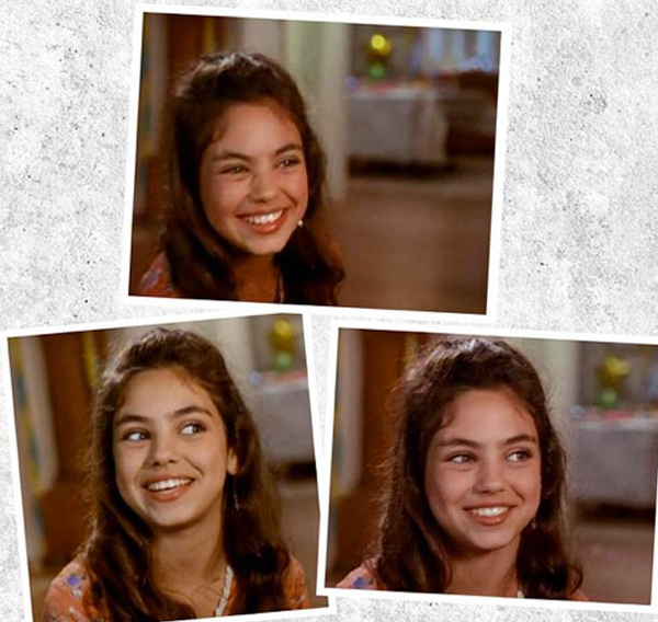 Девочка с очаровательной улыбкой - Мила Кунис