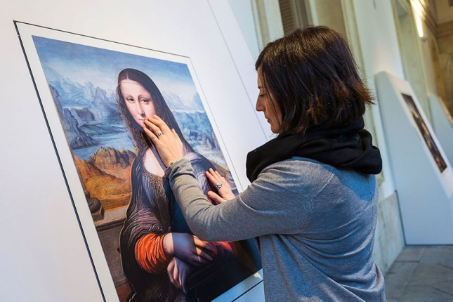 """Мона Лиза"" (""джоконда""), Леонардо ди сер Пьеро да Винчи (Леонардо да Винчи, Да Винчи)."