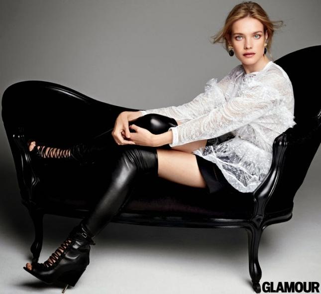 Наталья Водянова для Glamour США