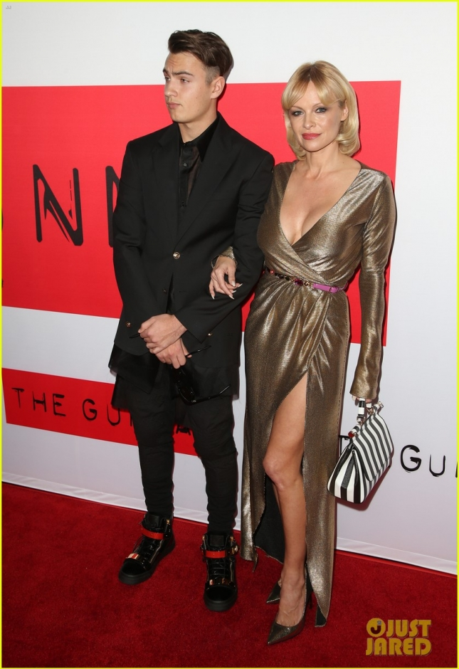 pamela-anderson-brings-son-brandon-to-gunman-premiere-11