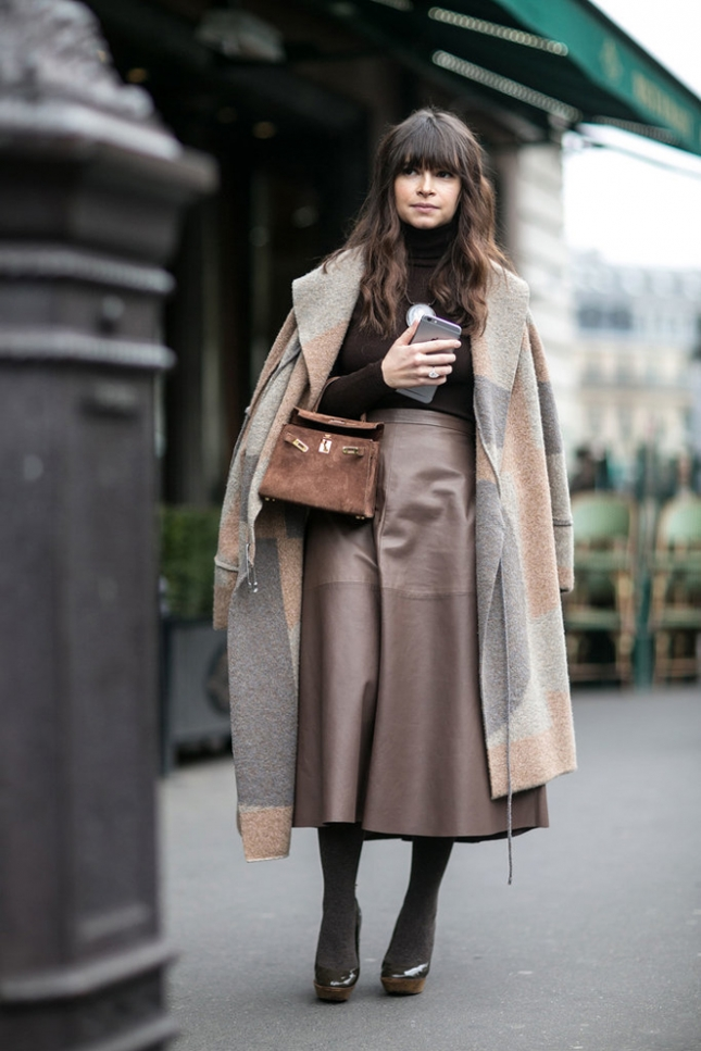 Мирослава Дума в пальто Stella McCartney