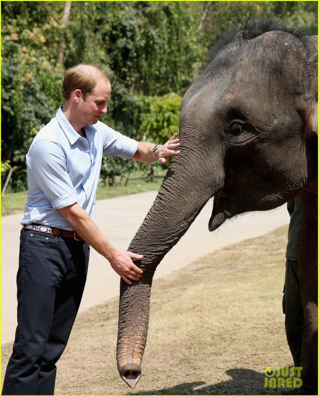 The Duke Of Cambridge Visits China - Day 4