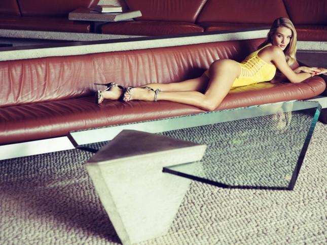 Роузи Хантингтон-Уайтли для Esquire UK, апрель 2015