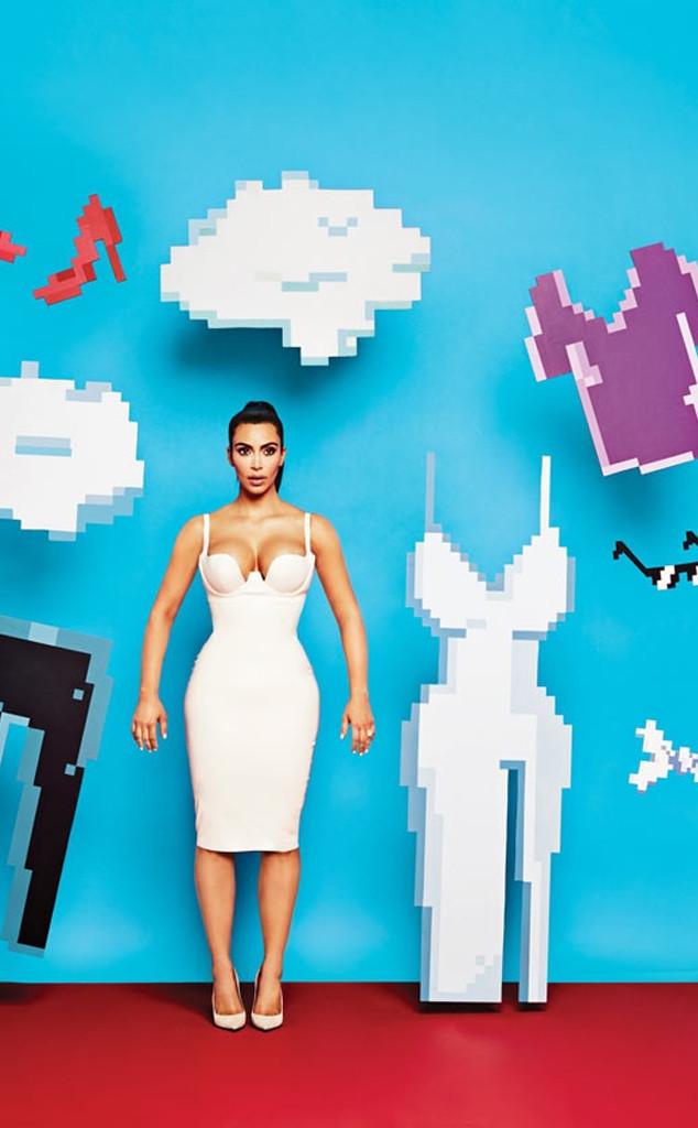 Ким Кардашьян для Adweek