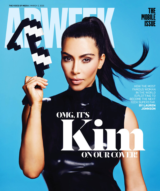 Ким Кардашьян на обложке Adweek
