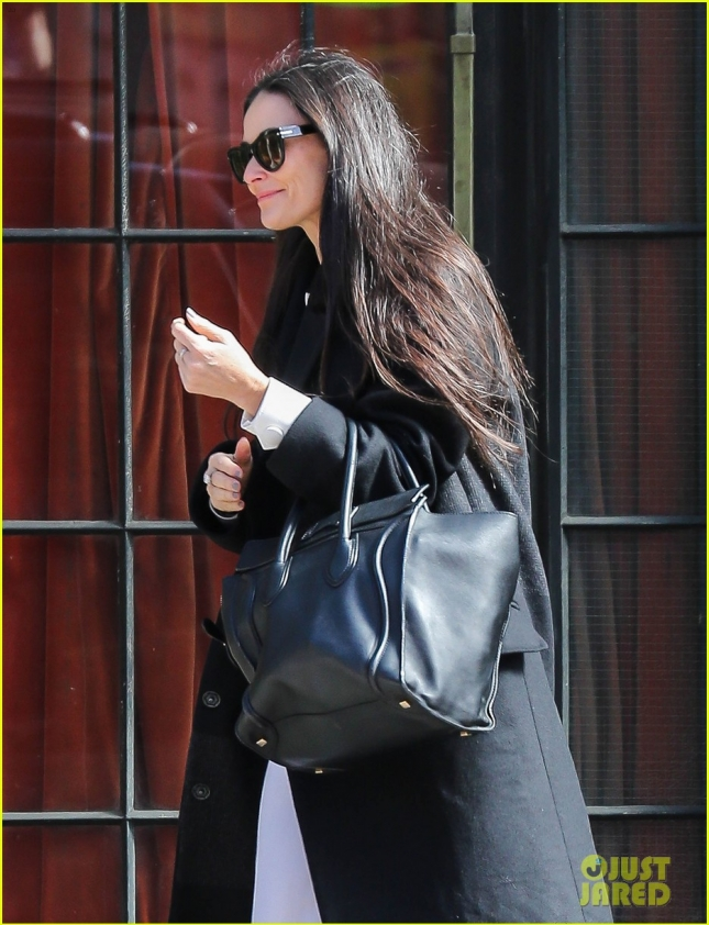 Demi Moore Steps Out In nYC