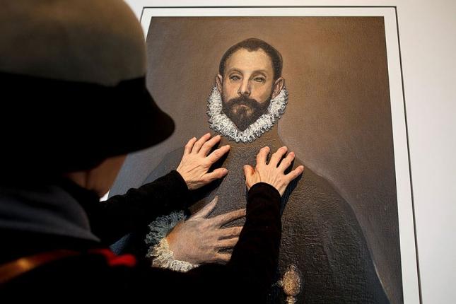 """""""Рыцарь с рукой на груди"""", Эль Греко."""