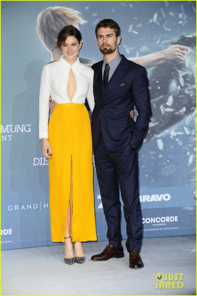 German premiere of 'Die Bestimmung - Insurgent'