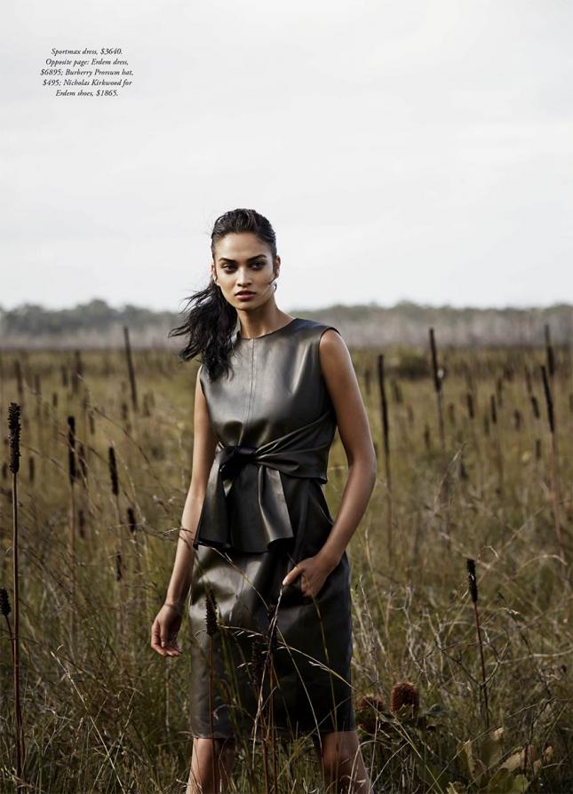Шанина Шейк для Harper's Bazaar Австралия, март 2015