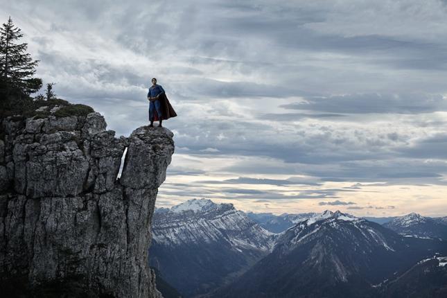 Супермен в горах