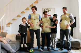 the-highs-and-lows-of-3-dads-as-they-take-on-the-weight-of-being-a-9-month-pregnant-mum-for-on__880-314x209