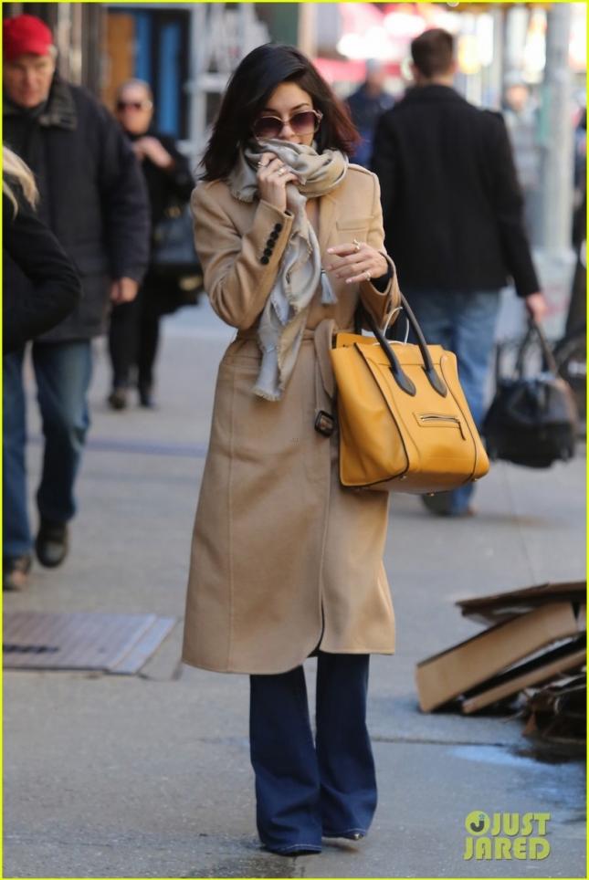 Ванесса демонстрирует новую стрижку в Нью-Йорке